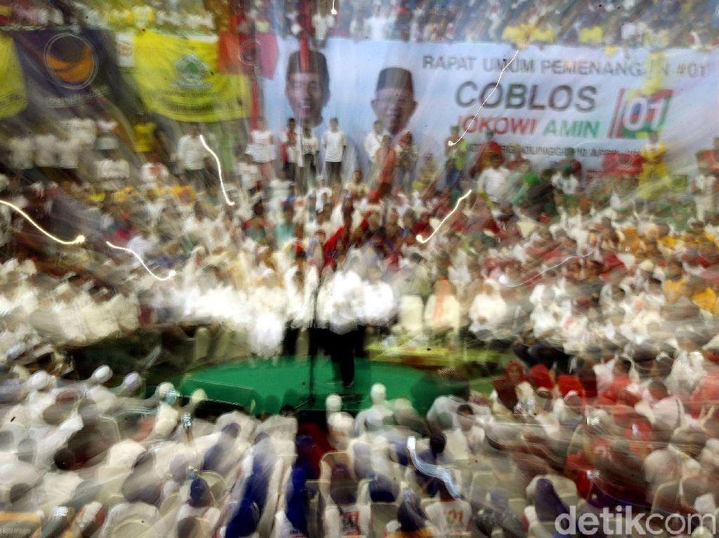 Melihat Kemeriahan Kampanye Jokowi di Probolinggo
