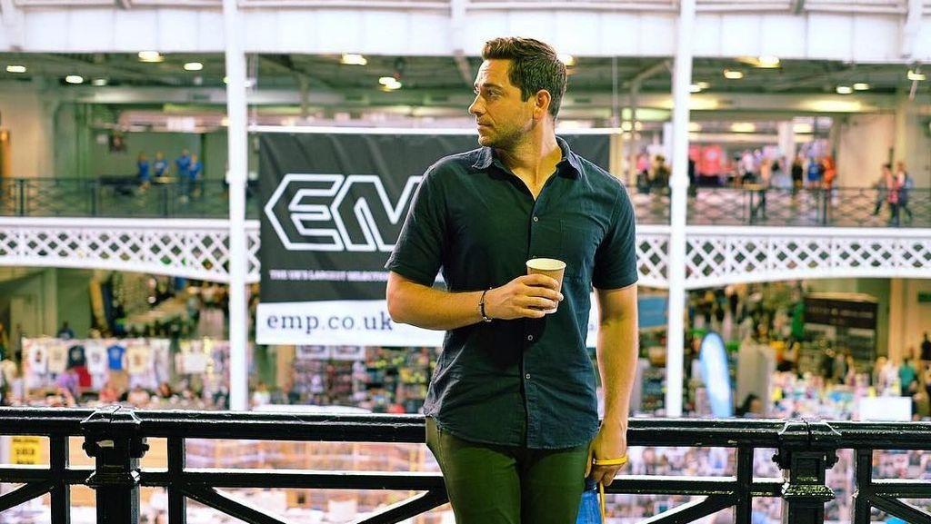 Sukses Perankan Film Shazam! Ini Gaya Kulineran Keren Aktor Zachary Levi