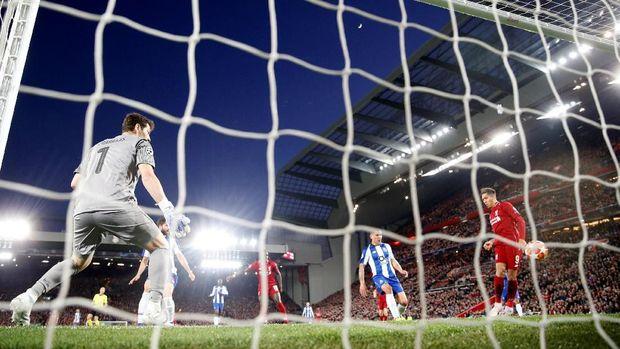 Hasil Liga Champions: Liverpool Bekuk Porto 2-0