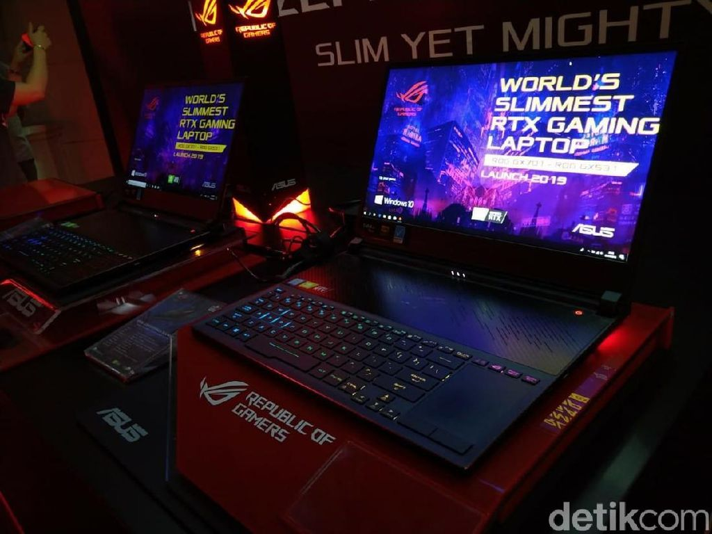 Ragam Produk Anyar Asus: Laptop Gaming Sampai Power Supply