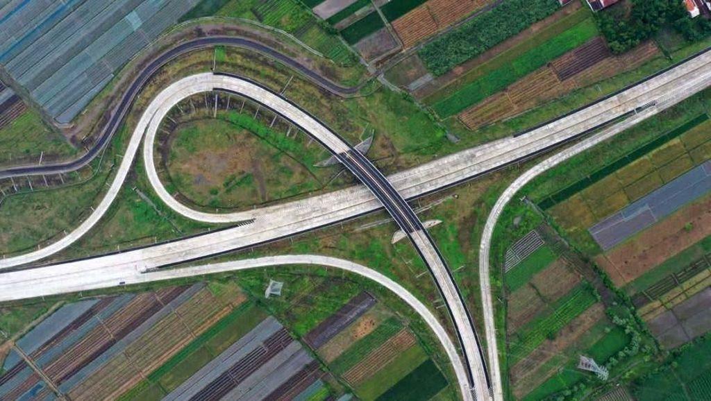 Wow! Begini Penampakan Tol Pasuruan-Probolinggo dari Udara