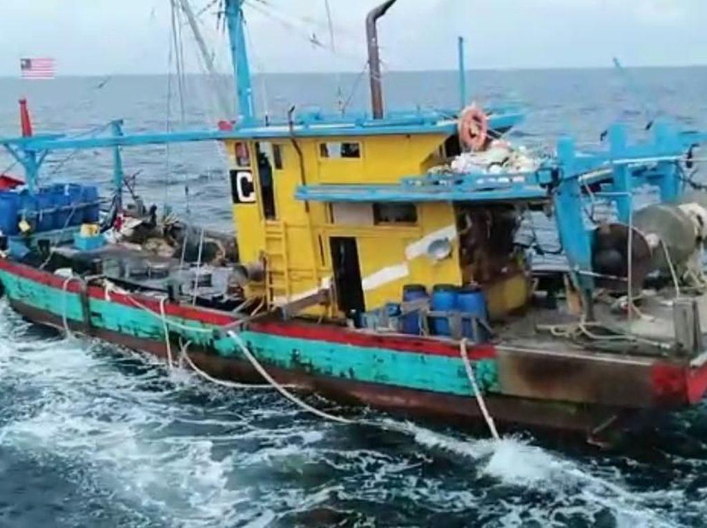 KKP Tangkap 6 Kapal Asing Terkait Illegal Fishing di Laut Indonesia