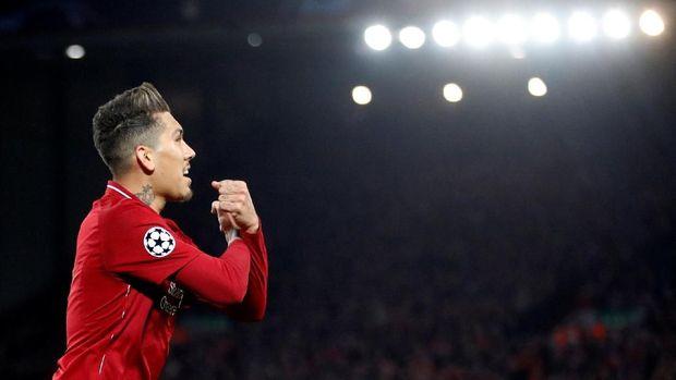 Roberto Firmino kembali memperkuat Liverpool di final Liga Champions 2019.