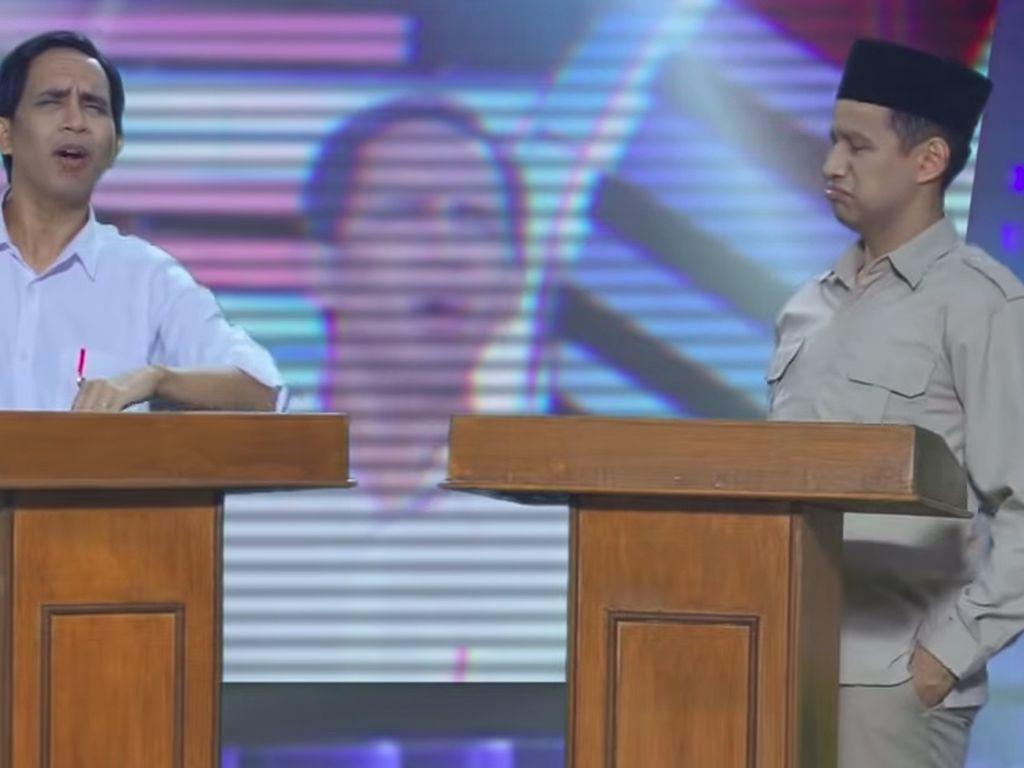 Rap Battle Jokowi vs Prabowo Kalahkan BLACKPINK di YouTube!
