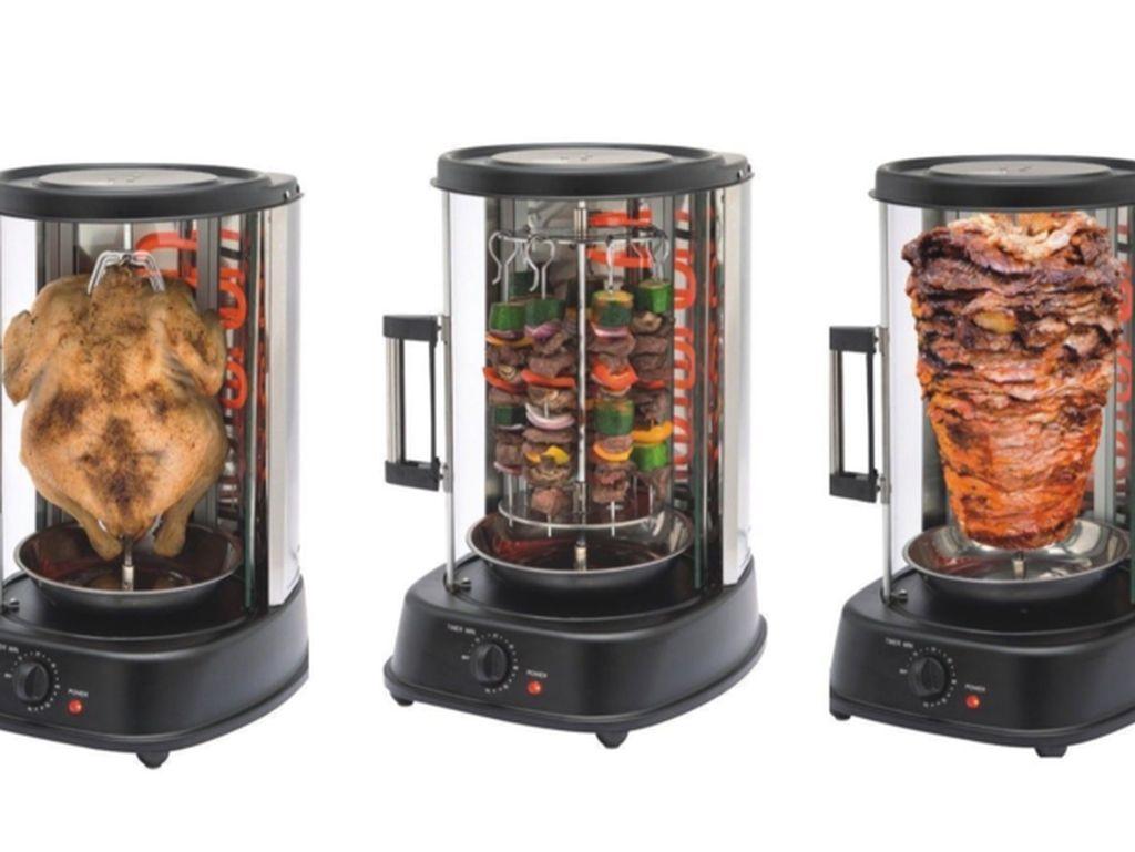 Mesin Canggih Ini Bisa Bikin Kebab dan Ayam BBQ di Rumah Setiap Hari