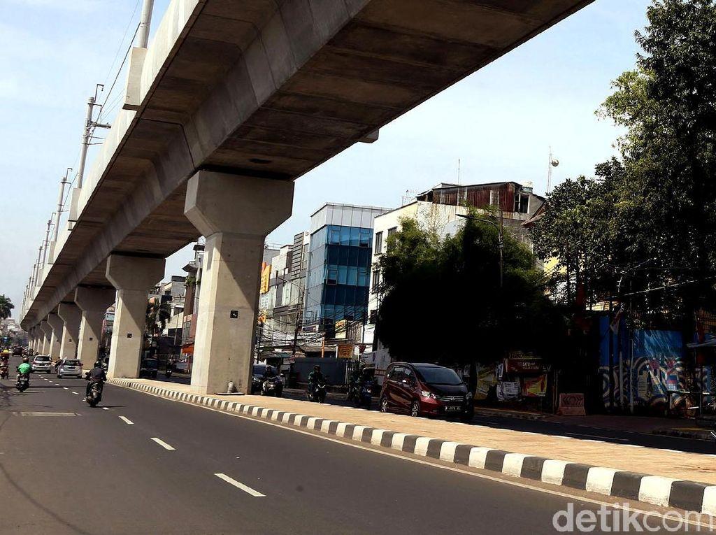 Jalan RS Fatmawati-Pangpol Kian Rapi Pasca Proyek MRT Rampung