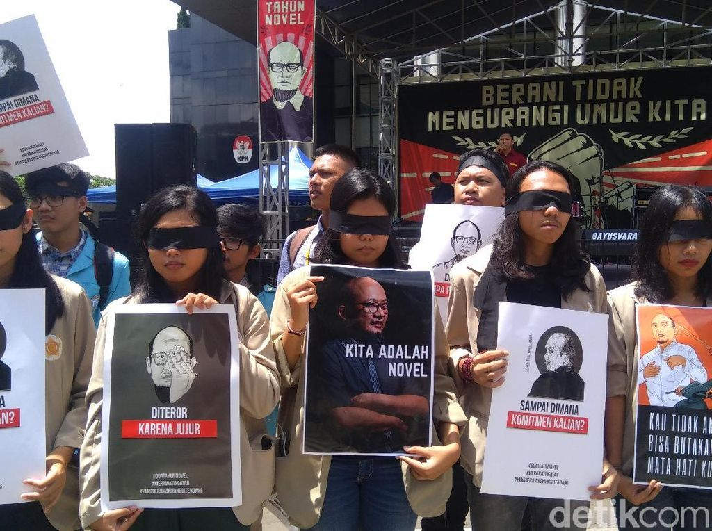 WP KPK Desak Jokowi Bentuk TGPF Independen Kasus Novel