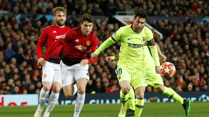 Barcelona vs Man United digelar di Camp Nou, Rabu (17/4/2019) dinihari WIB. (Foto: Reuters)