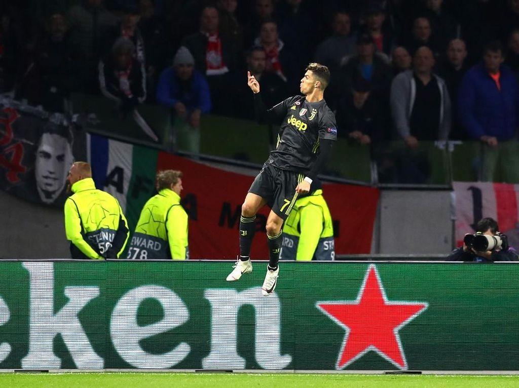 7 Fakta di Balik Gol Ronaldo ke Gawang Ajax