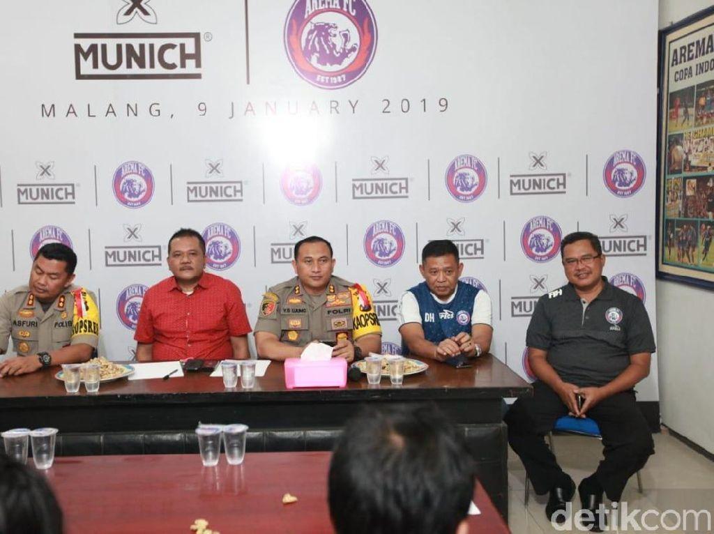Ayo, Nobar Seru Arema FC Vs Persebaya di Kantor Polisi Malang