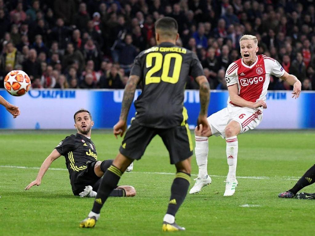 Seperti di Bernabeu, Ajax Yakin Bisa Jungkalkan Juventus