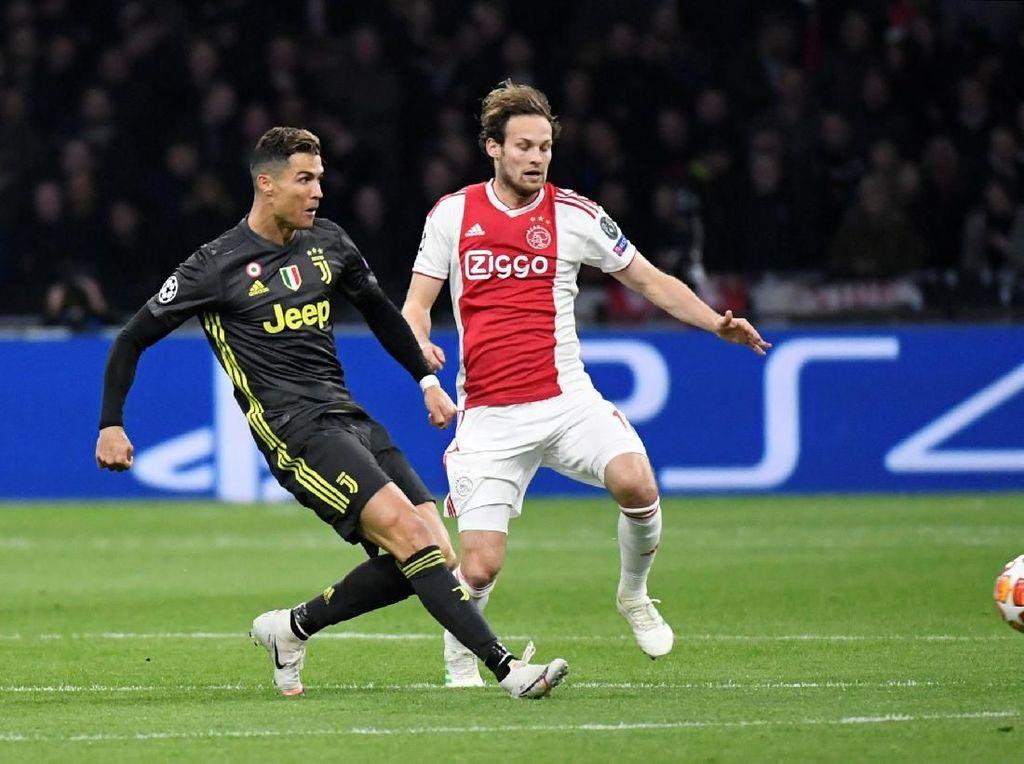 Gol Ronaldo Tak Cukup Menangkan Juventus di Kandang Ajax