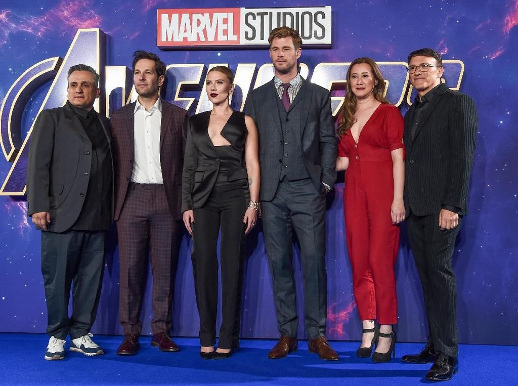 Kemeriahan Press Conference Avengers: Endgame di Seoul