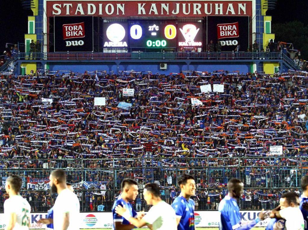 Opsi Agar Aremania Tanpa Tiket Tak Nonton Final Piala Presiden Sendirian