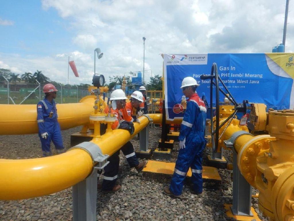 PGN Dapat Tambahan Pasokan Gas Bumi dari Blok Jambi Merang