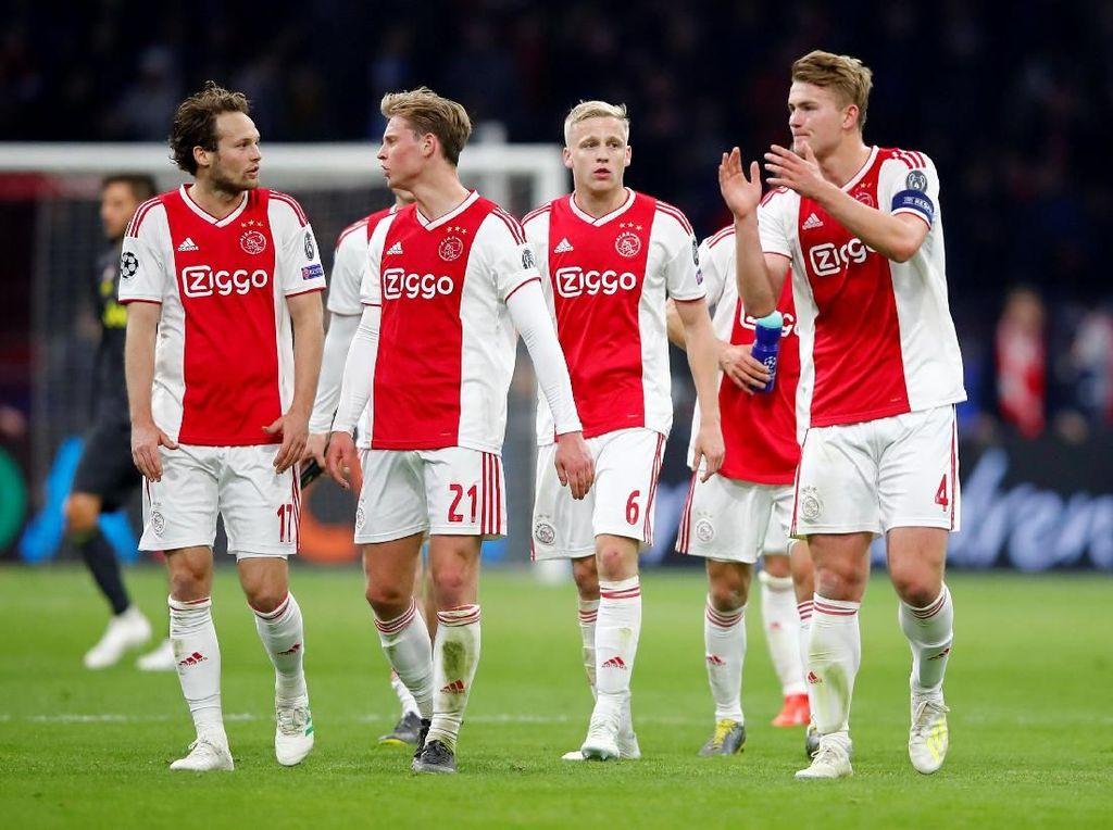 Pernah Singkirkan Madrid, Ajax Pede Menang di Turin