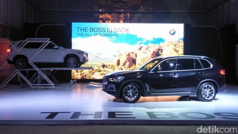 BMW Hanya Bawa X5 Tipe Termahal ke Indonesia