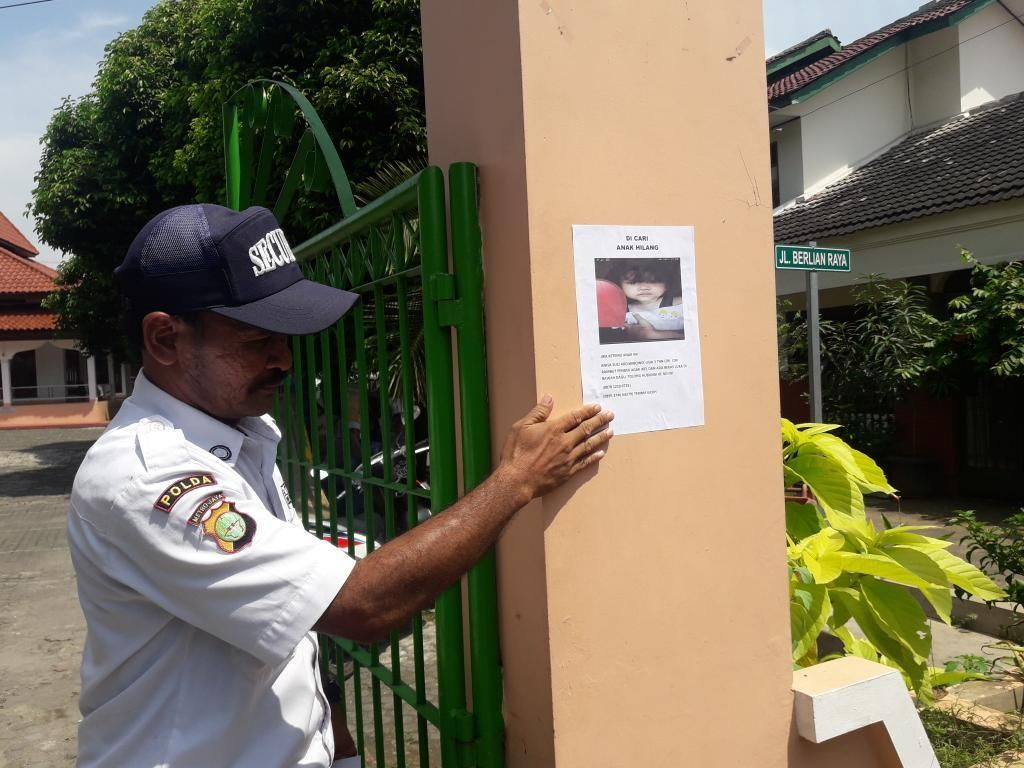 Mencari Balita Anisa yang Diculik, Keluarga Sebar Pamflet