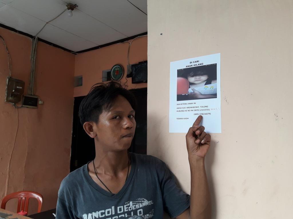 Saksi: Penculik Iming-iming Balita Anisa dengan Ciki dan Minuman