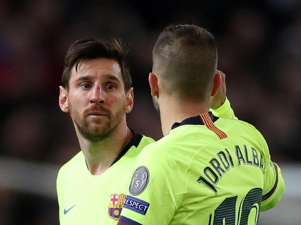 Hidung Messi Tak Retak