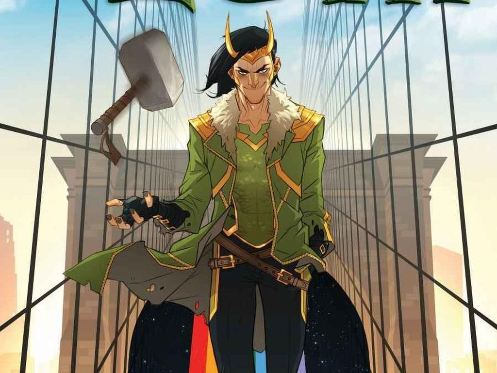 Giliran Loki Bakal Jadi Komik Solo