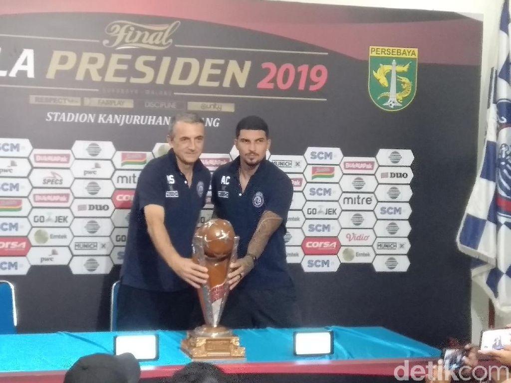 Sindir Aksi Balde, Milomir Pede Juara Piala Presiden dengan Fairplay