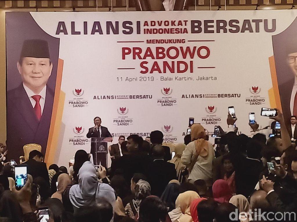Cerita Prabowo Diberi Air Mineral di GBK oleh Pendukung