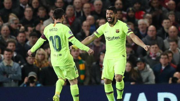 Pelatih Barcelona Soal Messi Berdarah: Juara Harus Menderita