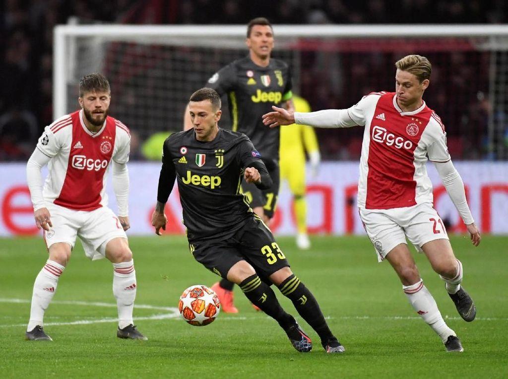 Ajax vs Juventus, Polisi Amankan 130 Suporter
