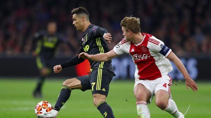 Juventus akan menjamu Ajax Amsterdam pada leg kedua perempatfinal Liga Champions. (Foto: Michael Steele/Getty Images)