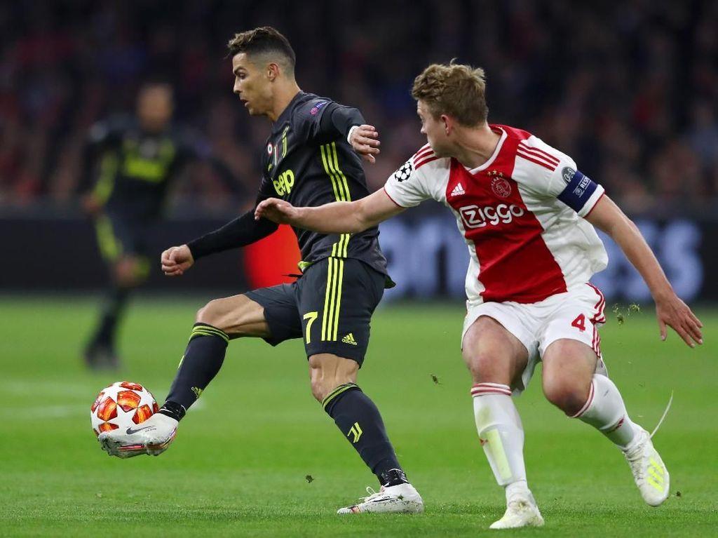 Prediksi Juventus Vs Ajax: Van Basten Jagokan Bianconeri Menang 2-1
