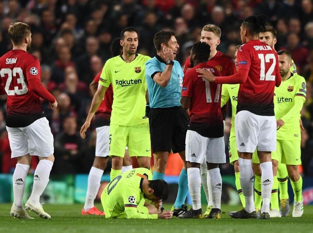 Smalling: Messi Tahu Hantamanku adalah Insiden