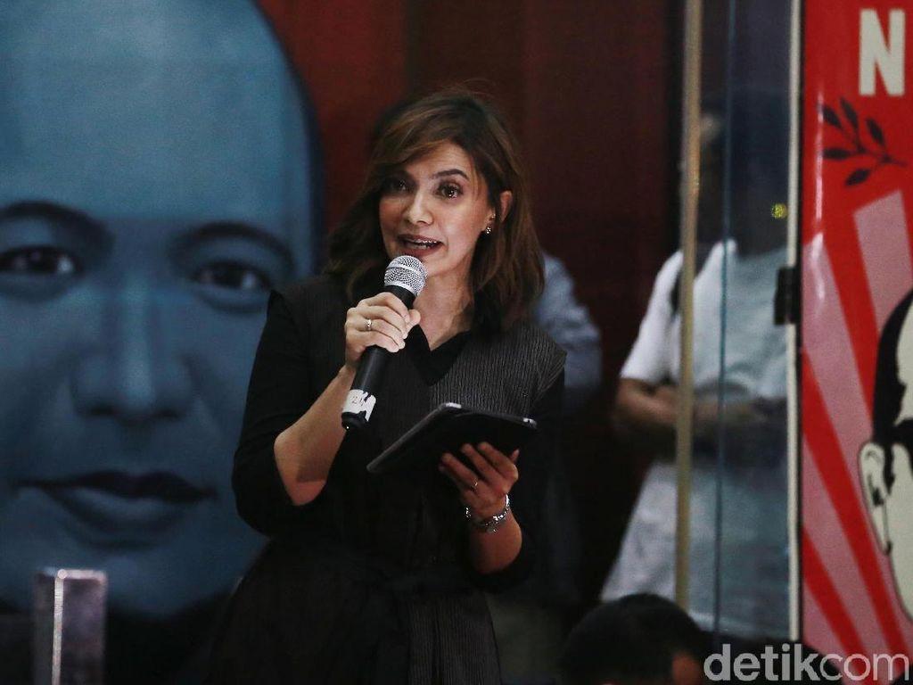 Najwa Shihab Hadiri Sarasehan 2 Tahun Kasus Novel