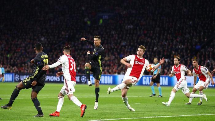 Juventus tak mempersiapkan adu penalti jelang melawan Ajax di leg II perempatfinal Liga Champions. (Foto: Michael Steele/Getty Images)