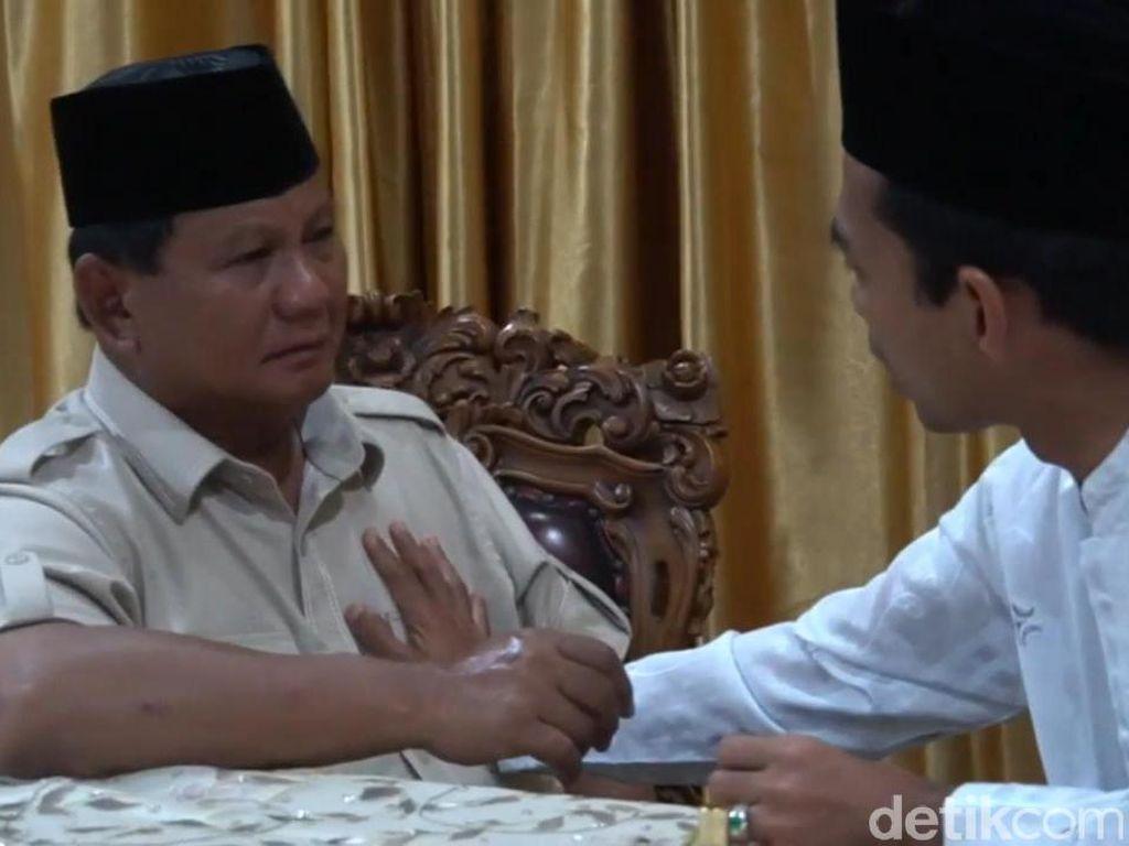 UAS ke Prabowo: Kalau Terpilih, Jangan Beri Saya Jabatan