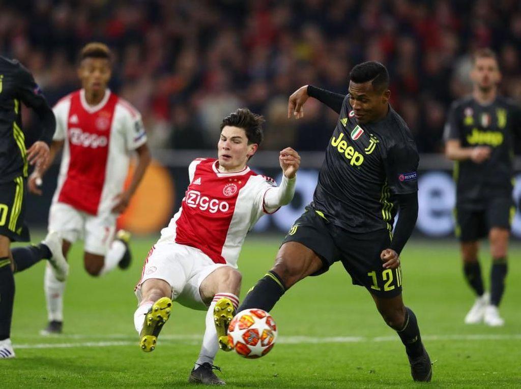 Gol Cepat Ajax di Babak Kedua Memukul Juventus