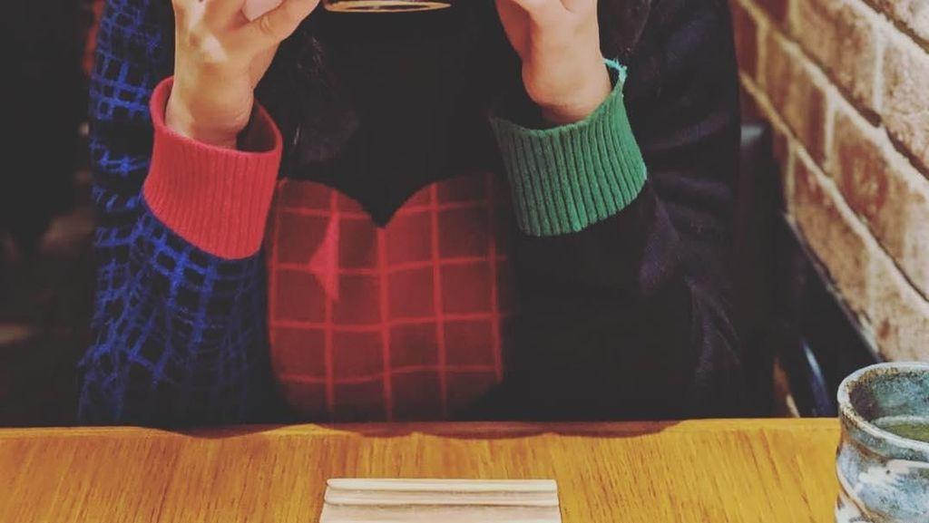 Cantiknya Raline Shah Saat Masak Hingga Jajan Es Krim di LA
