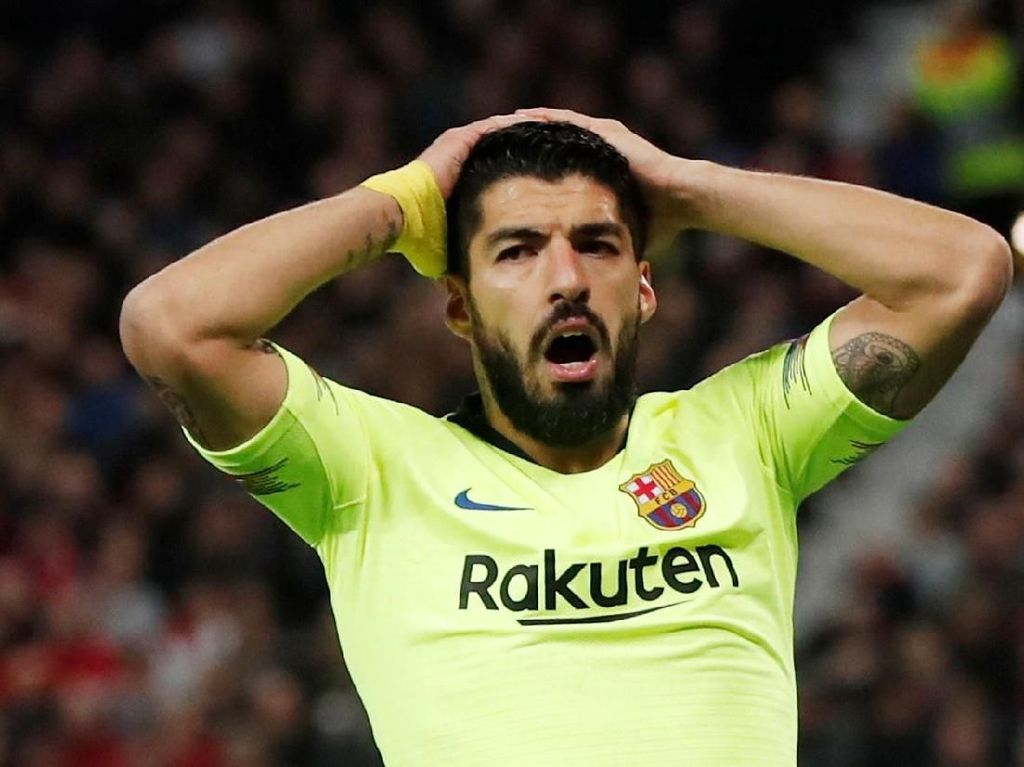Dan Puasa Gol Tandang Luis Suarez pun Berlanjut
