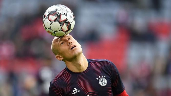 Arjen Robben mungkin sudah memainkan laga terakhirnya untuk Bayern Munich. (Foto: Christof Stache / AFP)