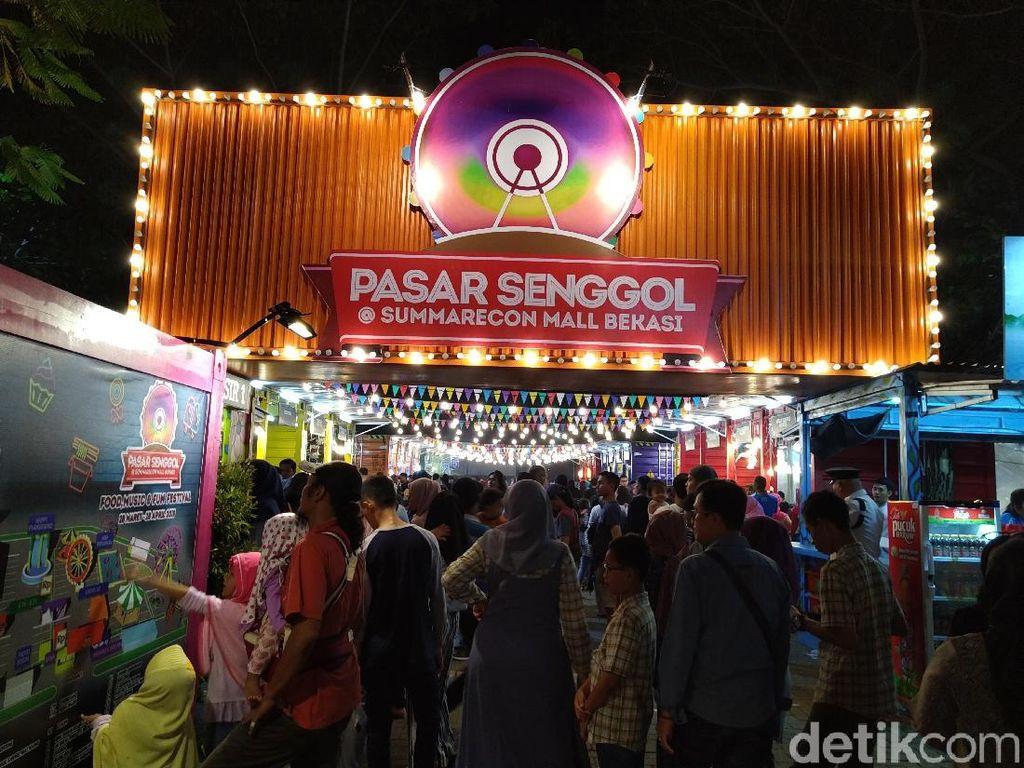 Pasar Senggol 2019 Kembali Digelar, Ada Sate Cumi Kekinian hingga Snack Berasap