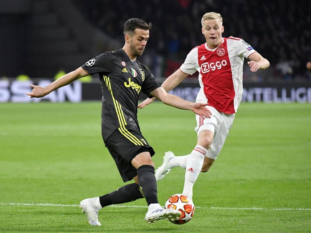 Juve Akui Ajax Memang Tangguh di Kandang