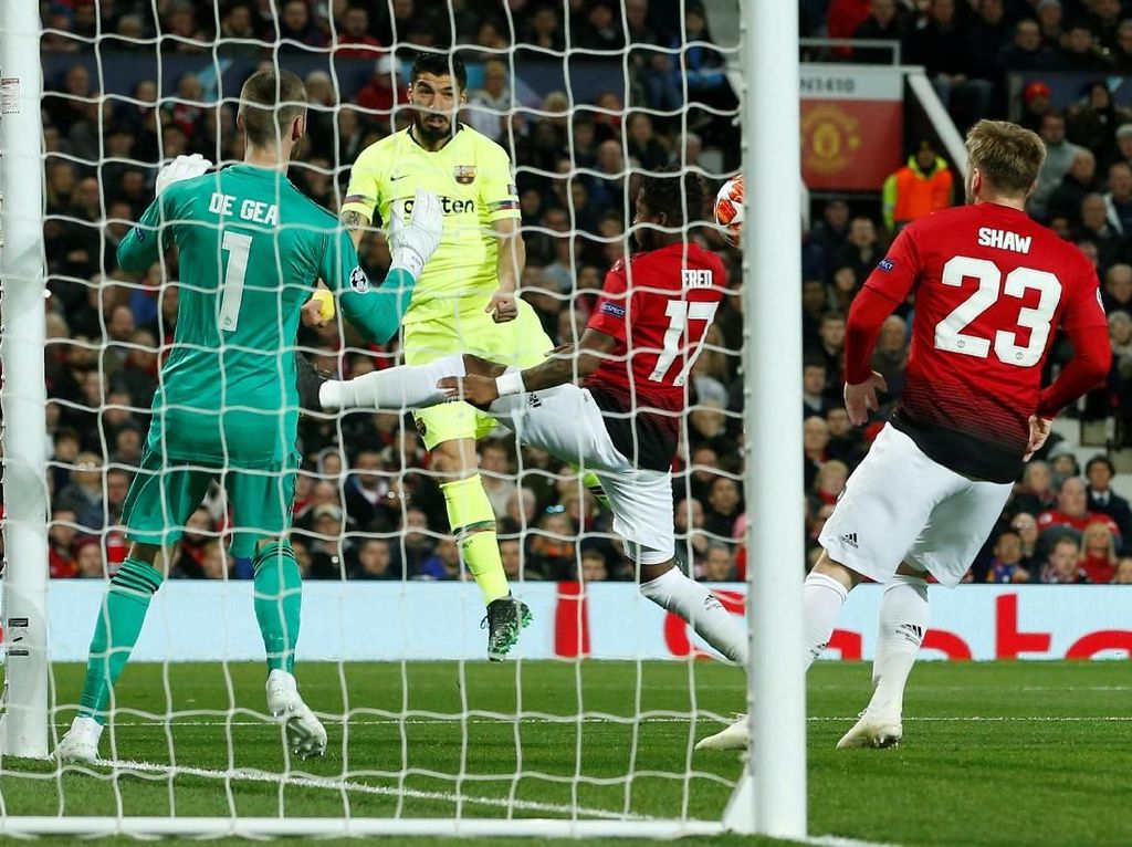 Gol Cepat di Old Trafford Bikin Barcelona Tenang