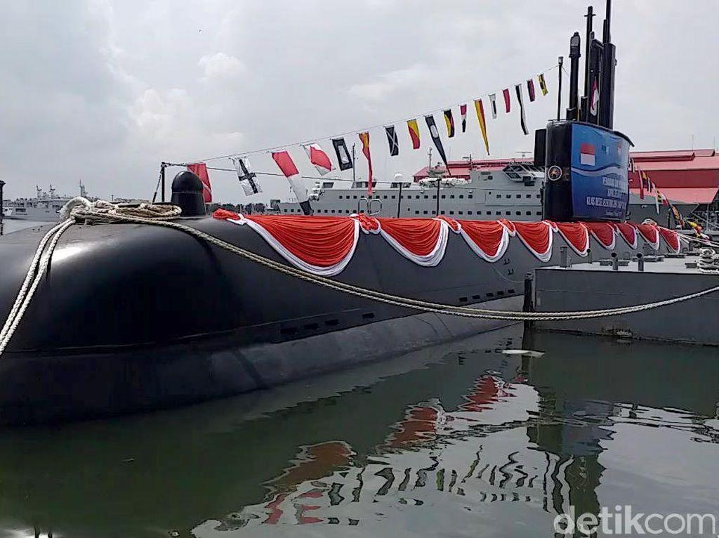 Keren! Kapal Selam Pertama Buatan Indonesia Diluncurkan