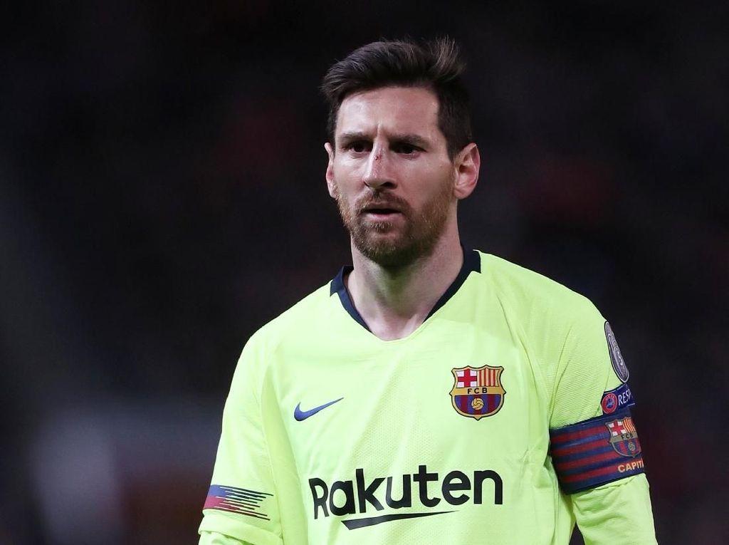 Top Skor Liga Champions: Lionel Messi Masih Teratas