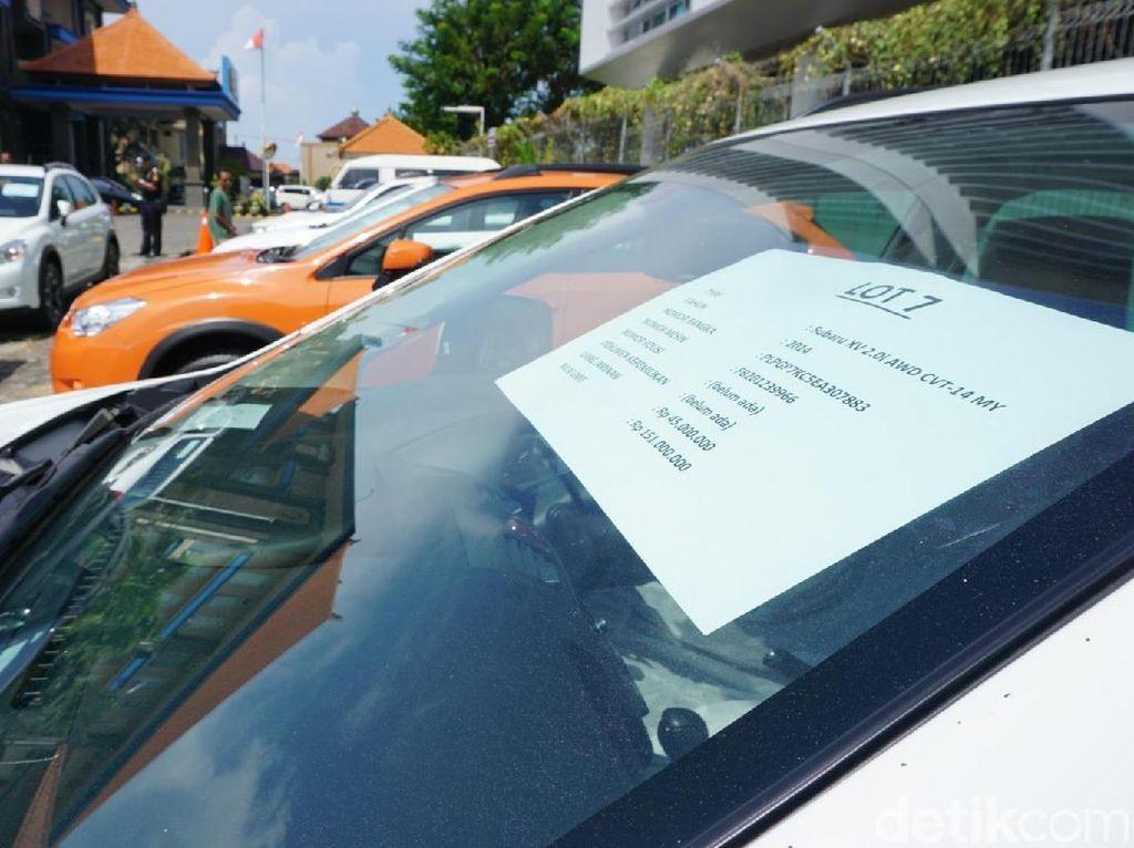 Hari Pertama Open House Lelang Subaru di Bali Masih Sepi