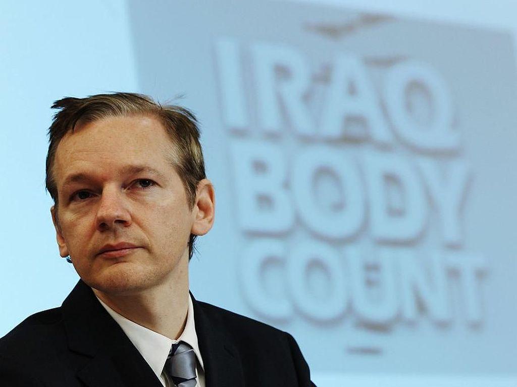 Kisah Julian Assange, Dedengkot WikiLeaks yang Misterius