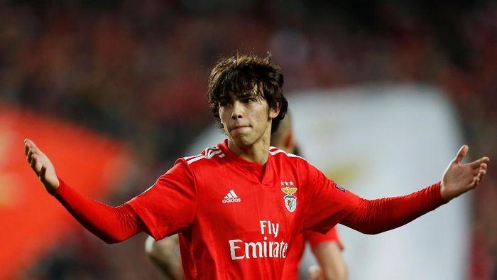Atletico Madrid resmi dapatkan Joao Felix. (Foto: Pedro Nunes/REUTERS)