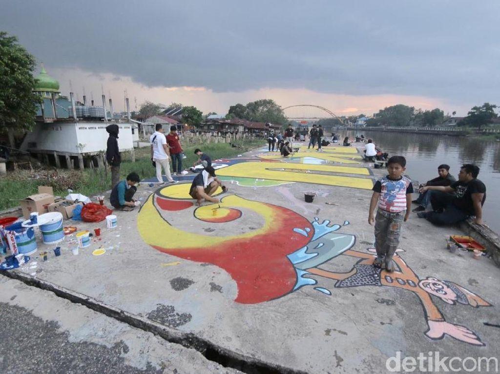 Kota Tua di Pekanbaru, Dulu Seram Kini Berwarna-Warni