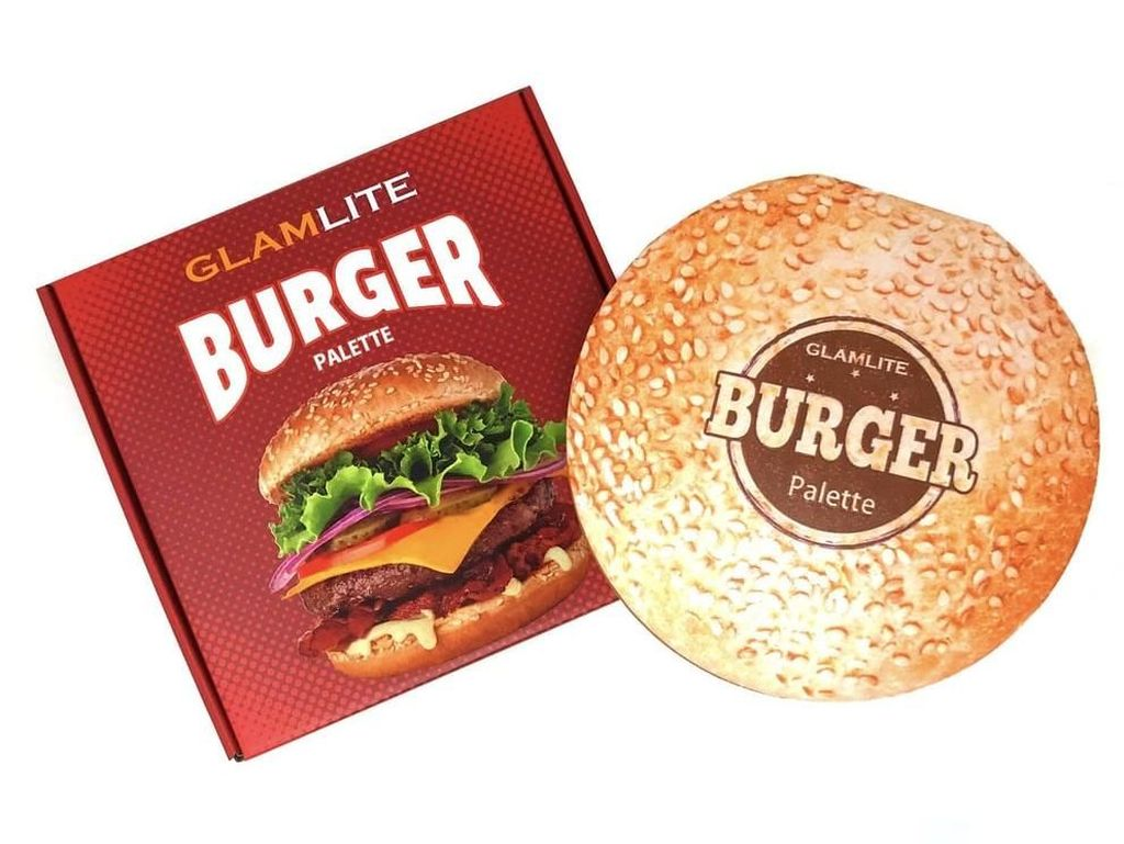 Bikin Lapar, Ada Palette Eyeshadow Berbentuk Burger