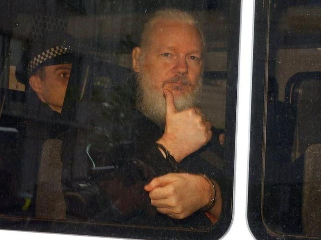 Ditangkap di Inggris, Julian Assange Terancam Diekstradisi ke AS
